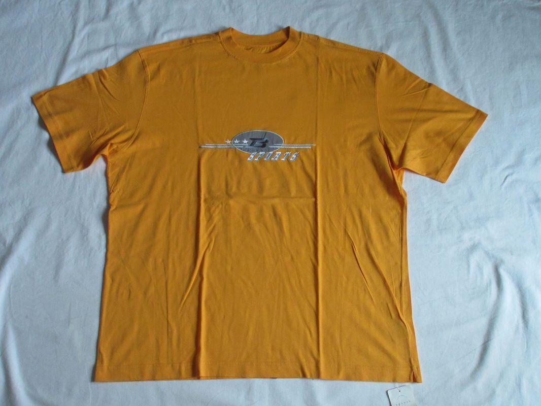 NEUWILLY BOGNER T SHIRTSPORTSSOMMER orangeSTERNESUPPORTGR  L - XLNEW