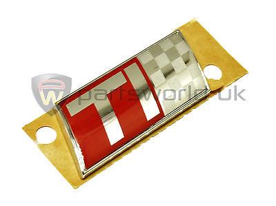 Alfa Romeo 147 156 166 Ti badge for boot lid & wings 43 x 20mm 156049366 Genuine