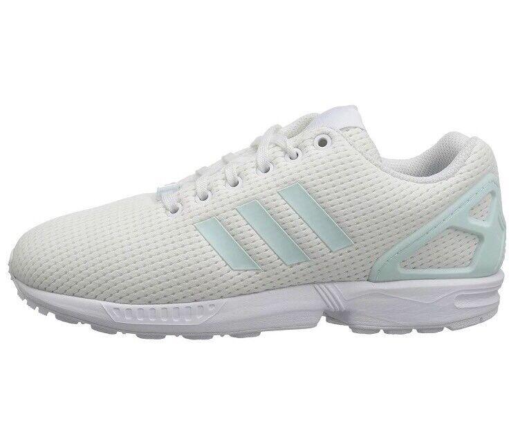 Adidas originas zx - flux - frauen schuhe by9219 weiße creme größe 7