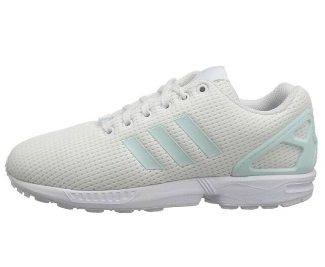 de9641e21 Adidas Originas ZX Flux Women s Running Shoes BY9219 White Cream Size 8