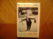 A&M CASSETTE SINGLE/ STING/ENGLISHMAN IN NEW YORK/IF YOU THERE/FACTORY SEALED