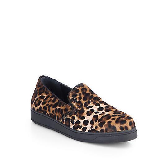 Retail  690 Prada Leopard-Print Calf Hair shoes Sz 37 7