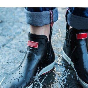 mens dress rain boots