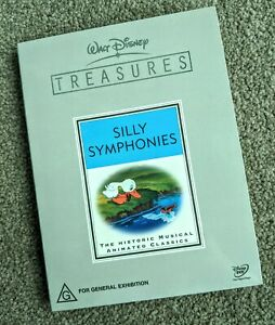 Walt-Disney-Treasures-Silly-Symphonies-DVD-2-Disc-Set-Region-4-PAL