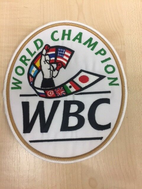 World scatolaing Council CAMPIONE DEL MONDO Patch per Pantaloncini
