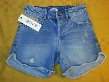 NWT Roxy Juniors 24 Surf jam high wasted Denim shorts woman's
