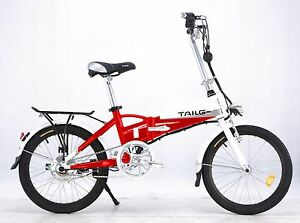 Electric-Bike-Foldable-Bike-Built-In-Battery-36V-Lithium-with-THROTTLE-20-034-New