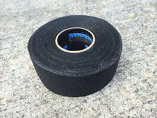 """Renfrew Wide Black Cloth Hockey Stick Tape Pro Quality  1.5"""" X 30YD"""