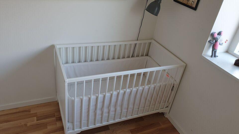 Babyseng, IKEA tremmeseng, b: 60 l: 120
