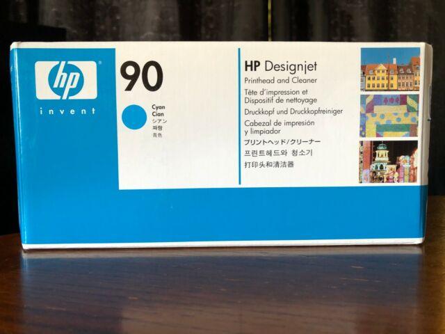 C5055A Genuine HP 90 CYAN Printhead & Cleaner HP DesignJet 4000 4500