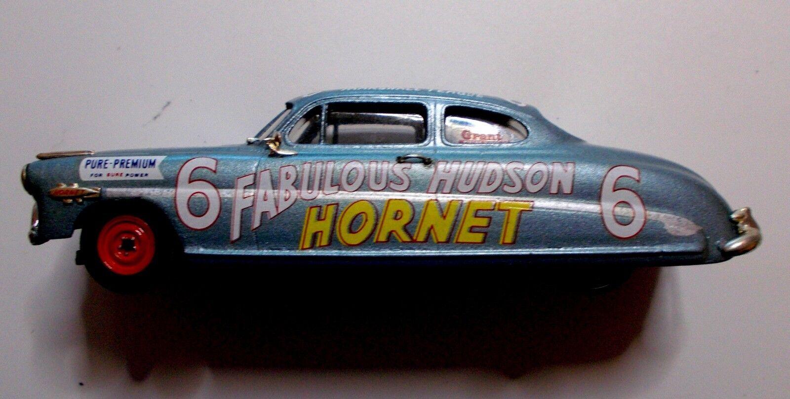 alta calidad y envío rápido 1981 1981 1981 Precison Miniatures 1952 Hudson Hornet Diecast Coche. Marshall Teague  6.  excelentes precios