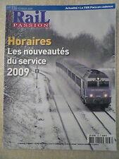 RAIL PASSION n° 136 / Fév 2009. CHANTIER EXTREME au MONT BLANC