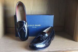2978d0b25ef Image is loading Cole-Haan-Pinch-Grand-Tassel-Loafer-Men-Black-