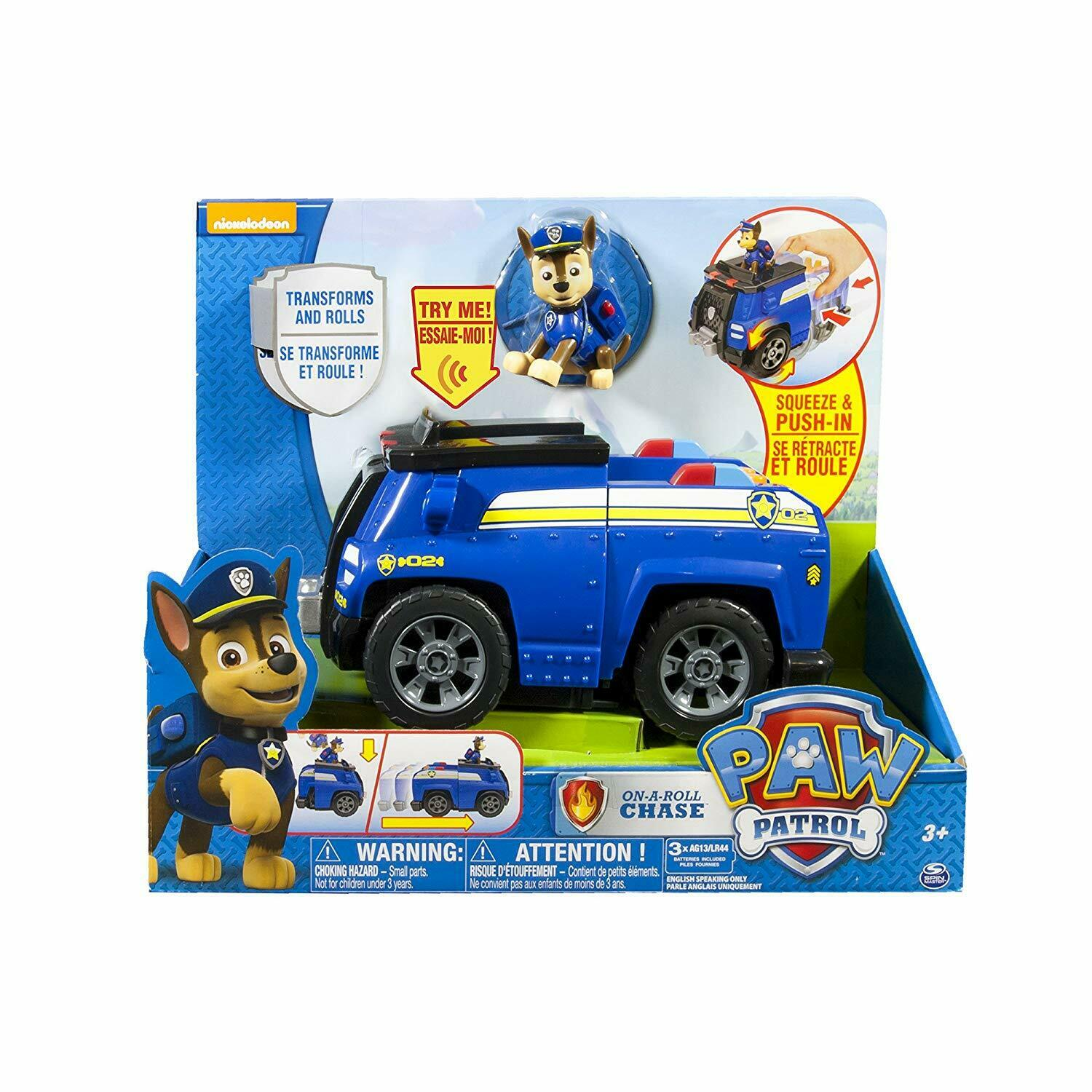 Paw Patrol 6032987 -Deluxe Vehicles, Assorted Models