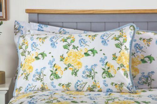 rideaux Lit Drap Housse Valance Country Diary Style Floral Housse De Couette
