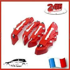 CACHE ETRIER FREIN TYPE BREMBO 3D ROUGE COMPATIBLE TUNING FORD PUMA, COUGAR