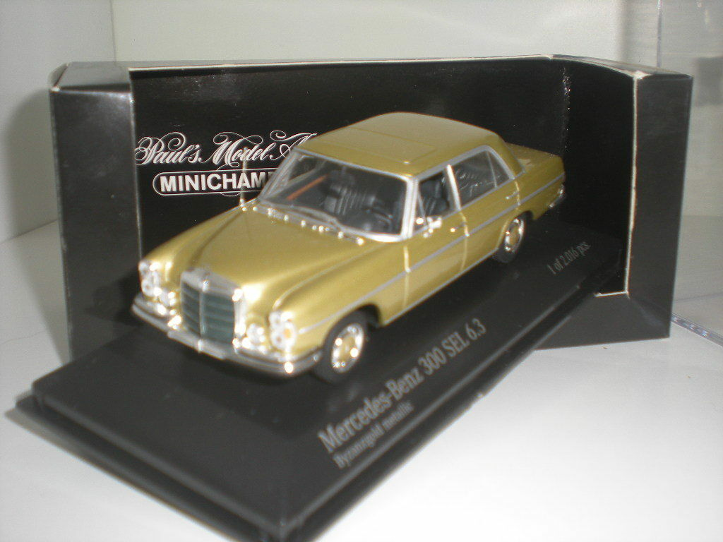 Mercedes - benz 300 sel 6.3 minichamps 1   43