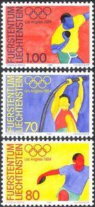 Liechtenstein-1984-Olympic-Games-Olympics-Sports-Athletics-3v-set-n44226