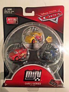 De 3 Pixar Cars Mini Disney Juguete Racers Pack Vehículos Fpt71 Mattel MVqSLGUzp