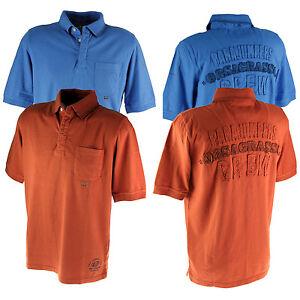 PARAJUMPERS-LACHUTE-Herren-Polo-Shirt-Polohemd-mit-Brusttasche-Gr-L