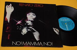 RENATO-ZERO-LP-NO-MAMMA-NO-COPERTINA-APRIBILE-1978-EX-TOP-AUDIOFILI