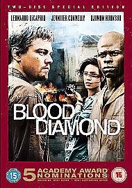 1 of 1 - Blood Diamond (DVD, 2007, 2-Disc Set)