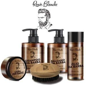 Beard-Line-Kit-Barba-e-Baffi-4-Prodotti-Spazzola-Renee-Blanche