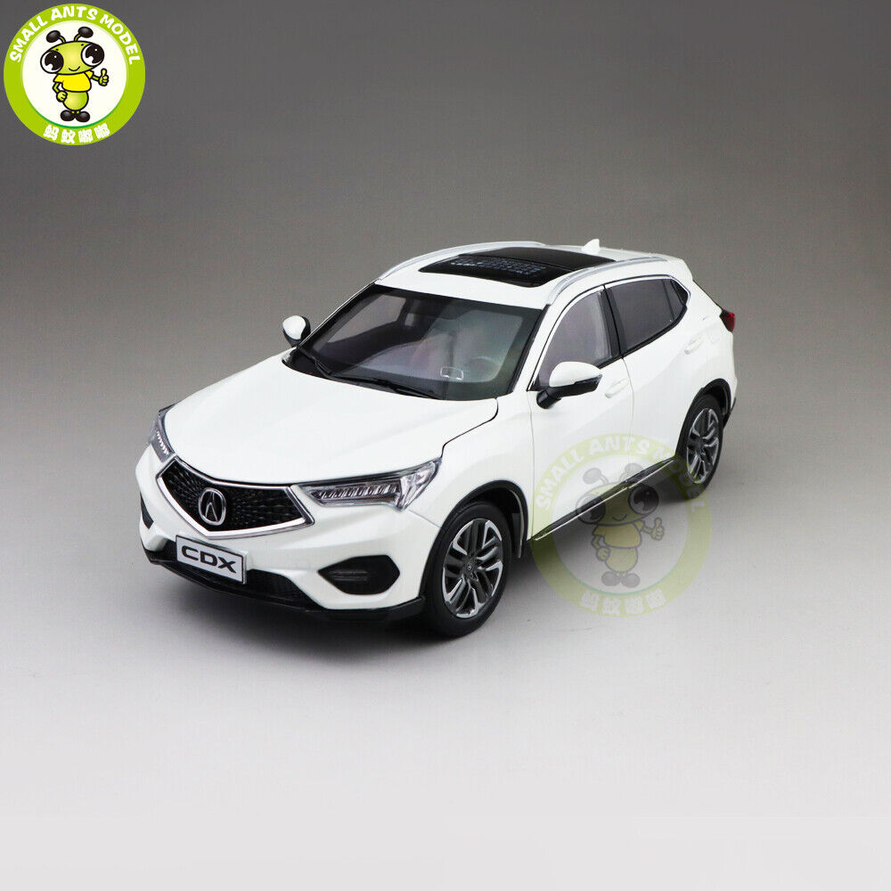 1 18 Honda ACURA CDX SUV Diecast Metal Car SUV Model Boy Girl Gift White