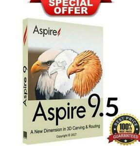 Vectric-Aspire-9-514-ultima-version-Cliparts-vida-activado-Entrega-Rapida