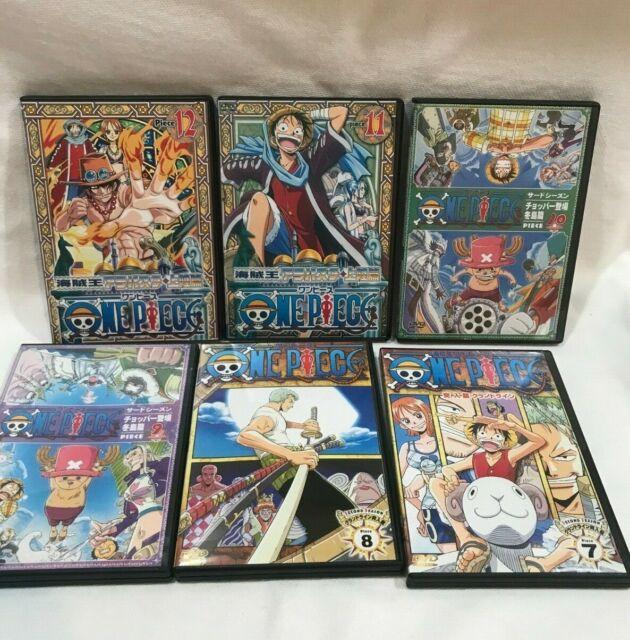 One Piece DVD Lot Vol 7 -12  Anime 4Kids English sub titles  TV, 7,8,9,10,11,12,
