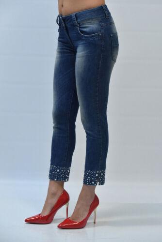 Blu Mis Élasthanne Pp 31 98 00 € 2 Coton 315 Jeans Donna Tatouage Scy5 50 186Uv