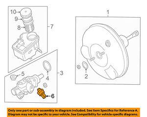 bmw oem 01 06 325ci abs anti lock brakes pressure sensor 34521164458 rh ebay com