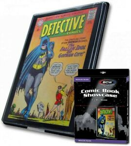BCW Silver comic book display Showcase (Brand new) Free postage UK seller