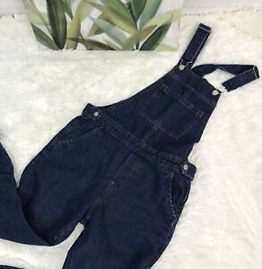a172bd753f68 Womens sz 26 Top Shop Moto Denim Overalls Skinny 26 inch Inseam