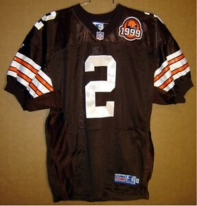new product fd7ff e3274 Details about CLEVELAND BROWNS TIM COUCH AUTOGRAPHED AUTHENTIC NFL Football  # 2 JERSEY