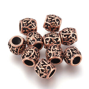 Beads 20pcs Round Skull Big Hole European Resin Glass Beads Fit Pandora Bracelet Chain Boho Necklace For Jewelry Making Accessories Moderate Price Jewelry & Accessories