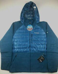 Columbia Mens Large Blue Titanium Snowfield Omni Heat ...