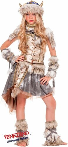 in Italy les pour Made luxe Halloween filles ans 3 Viking costume 10 padq5w5