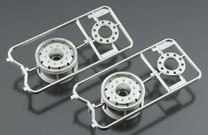 Image is loading Tamiya-56520-Metal-Plated-Wheels-30mm-Matte-Finish-