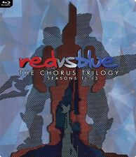 RED VS BLUE THE CHORUS TRILOGY SEASONS 11-13 New Sealed Blu-ray Steelbook RvB