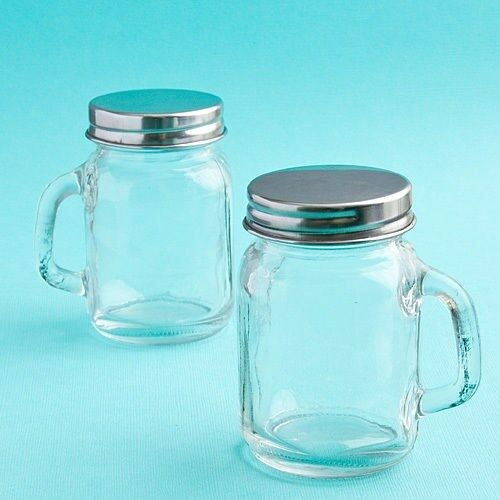 60 Mini Glass Mason Candy Treat Jars Wedding Bridal Baby Shower Party Favors