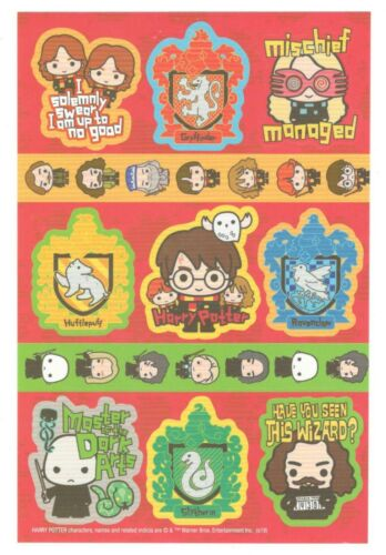 American Greetings Sticker HARRY POTTER 1 Sheet Scrapbooking SD15