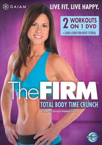 1 of 1 - Gaiam - The Firm: Total Body Time Crunch