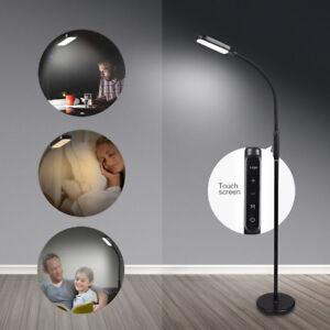 LED Floor Lamp Adjustable Standing Light Living Room Office Gooseneck Reading US