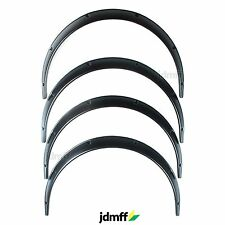Universal Fender Flares JDMoverwide body wheel arches ABS 2 inch 4pcs