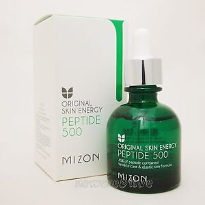 Mizon Peptide-500 30Ml Minerals Lip Balm Lemon Balm Zion Health .15 oz Tube