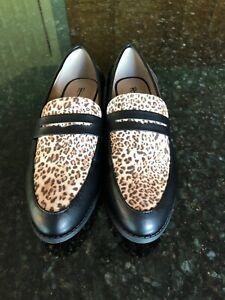 Restricted-Brand-Black-Animal-Print-Loafers-8-NWOB