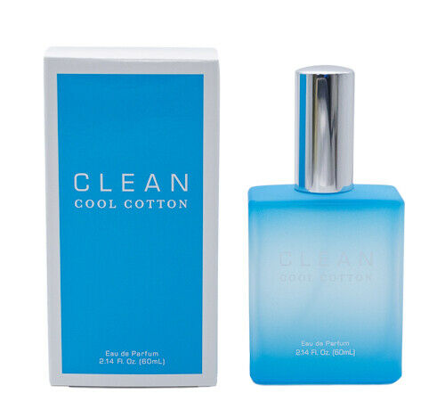 Cool Cotton by Clean 2.14 oz EDP Perfume Cologne for Women Men New In Box