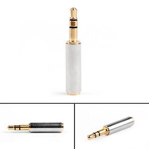 3-5mm-Femelle-to-3-5mm-Male-Plug-Stereo-Audio-Connecteur-Pour-ecouteur