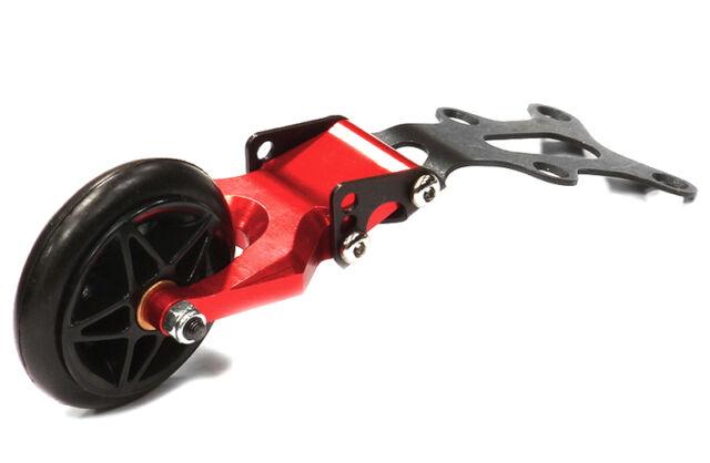 C25327 Integy Replacemnt Metal Bracket for T5013 Type Savage XS Flux Wheelie Bar